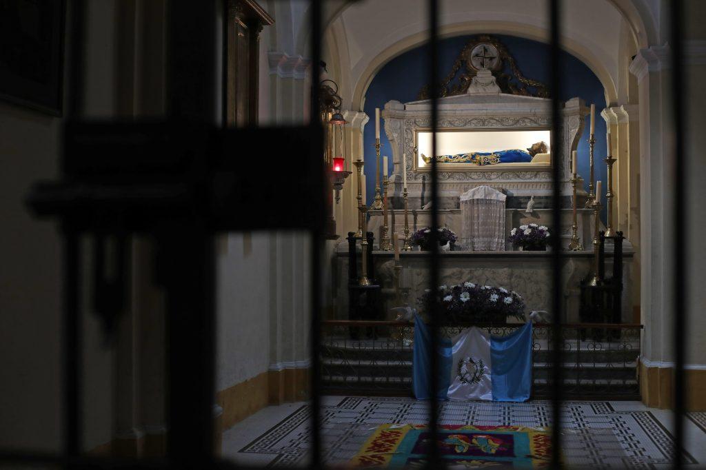 El 30 de marzo la Hermandad del Señor Sepultado comunicó al pueblo que las actividades de Semana Santa estaban canceladas. Foto Prensa Libre: Óscar Rivas