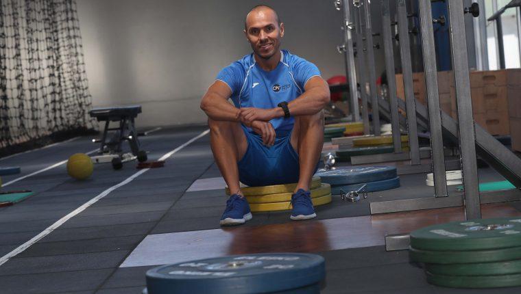 Iván Castillo preparador físico guatemalteco de selecciones nacionales. (Foto Prensa Libre: Hemeroteca PL)