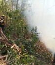 Las autoridades hacen un llamado a la población para que eviten los incendios forestales, pues estos causan serios daños en el medioambiente. (Foto Prensa Libre: Cortesía Conap)