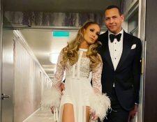 Jennifer López y Alex Rodríguez se comprometieron en marzo pasado. (Foto Prensa Libre: Instagram @Jlo)