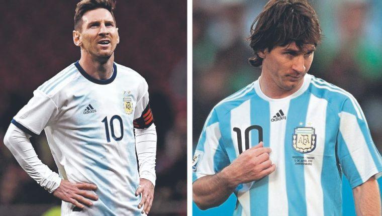 Lionel Messi es el capitán de la Selección de Argentina. (Foto Prensa Libre: Hemeroteca PL)