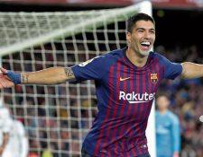 Luis Suárez se recupera de una lesión. (Foto Prensa Libre: Hemeroteca PL)