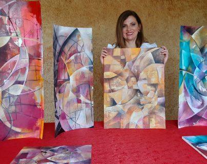 Mariana Siebold con su última serie llamada Desde mi ventana.  (Foto Prensa Libre: cortesía).
