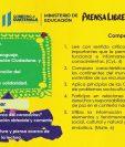 El contenido de la serie #AprendoEnCasa está elaborado por especialistas del Mineduc. Foto Prensa Libre Mineduc