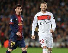 David Beckham asegura que Lionel Messi es mejor que Cristiano Ronaldo. (Foto Prensa Libre: Hemeroteca PL)