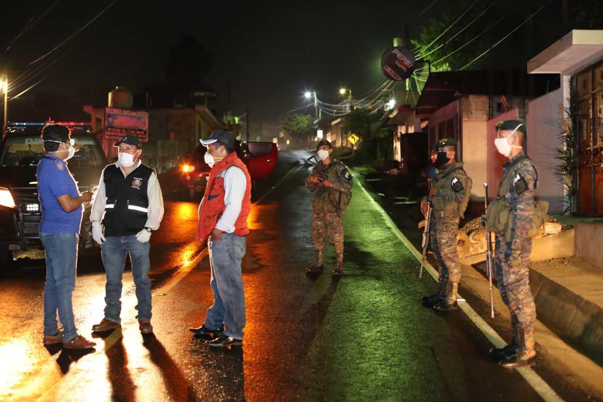 Coronavirus en Patzún: Cordón sanitario será retirado esta semana, anunció el presidente