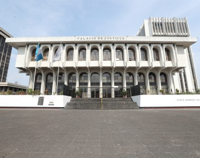 Se desconocen aspectos puntuales del paquete de reformas que busca presentar la CSJ. (Foto Prensa Libre:  Erick Avila)