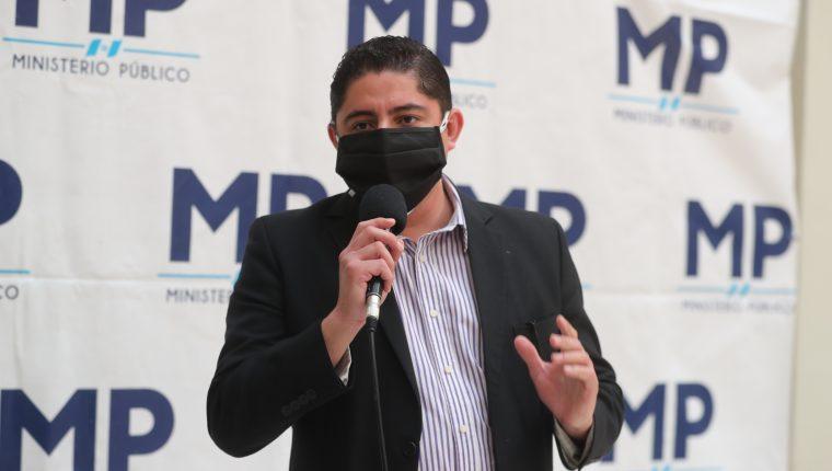 Stuardo Campo deja de ser el jefe de la Fiscalía Contra la Corrupción. (Foto Prensa Libre: Stuardo Campo)