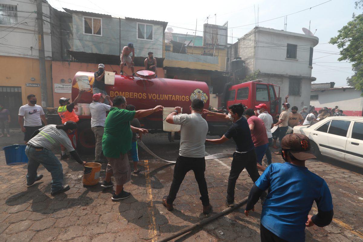 Fotogalería: incendio en barranco de colonia Madre Dormida y asentamiento Las Jacarandas, zona 7