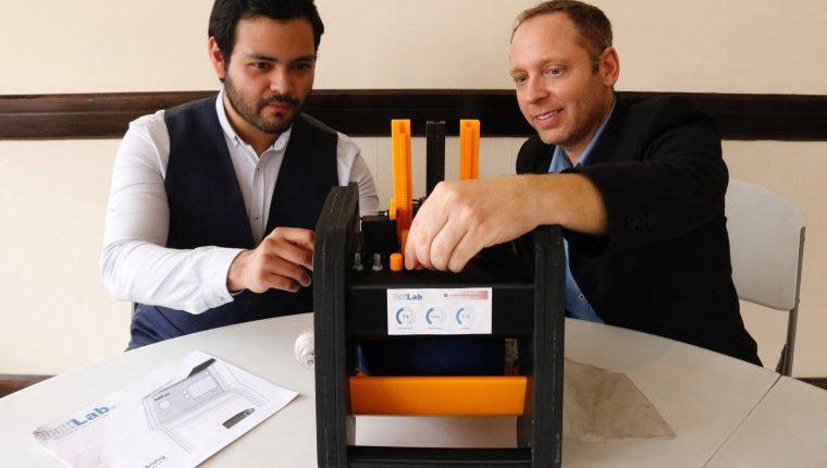 Emprendedores de Israel y Guatemala diseñaron un respirador para hacer frente al covid19. Fotografia: Prensa Libre (Fernando Cabrera).