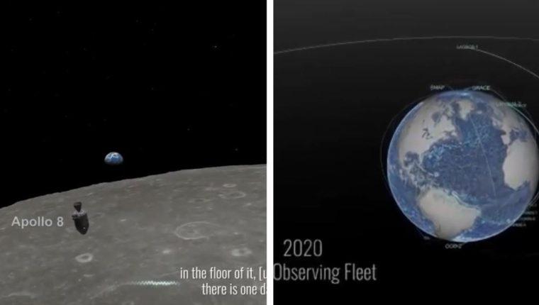 La Nasa compartió imágenes sorprendentes en el Día de la Tierra. (Foto Prensa Libre: Twitter)