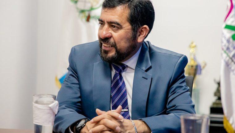Miguel Ovalle es alcalde de Salcajá, Quetzaltenango y presidente de la Asociación Nacional de Municipalidades (Anam). (Foto Prensa Libre: cortesía Anam)
