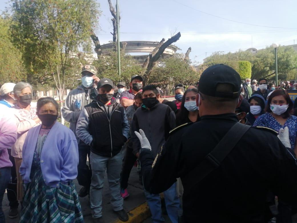 Coronavirus: las razones de los vendedores informales para protestar por la ayuda que ofreció el presidente Alejandro Giammattei