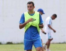 Marco Pablo Pappa espera volver a jugar pronto y olvidar esos seis meses fuera de una cancha. (Foto Prensa Libre: Hemeroteca PL)