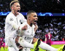 Neymar y Kylian Mbappé han demostrado que tienen buena química en la cancha y fuera de ella. (Foto Prensa Libre: Hemeroteca PL)