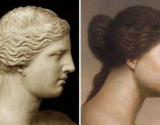 Versión del posible aspecto de la Venus si se tratara de persona real. (Foto Prensa Libre:  Instagram del artista Joongwon Jeong)