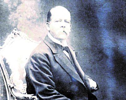 Retrato del presidente Manuel Estrada Cabrera, actualmente se encuentra en resguardo de sus bisnietos. (Foto Prensa Libre: Hemeroteca PL)