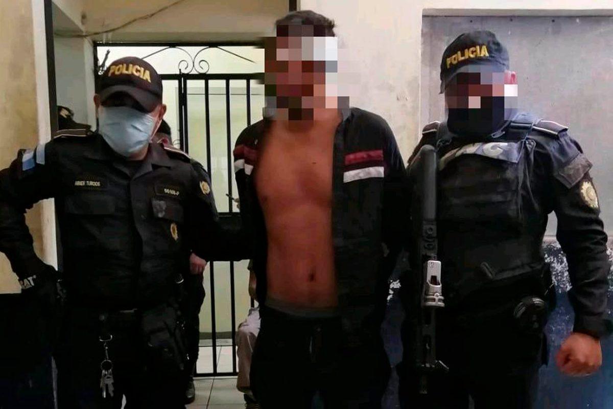 Capturan a supuesto secuestrador de dos menores, a quién pobladores intentaron linchar