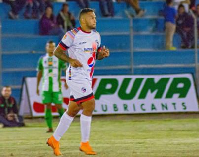 Romero es uno de los referentes de Quiché FC. (Foto Prensa Libre: Redes)