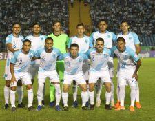 La Selección de Guatemala estaba en búsqueda de la clasificación a la Copa Oro 2021. (Foto Prensa Libre: Hemeroteca PL)