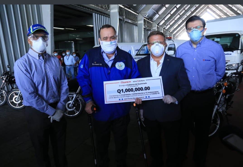 Sika Motors dona automoviles para la lucha contra el coronavirus