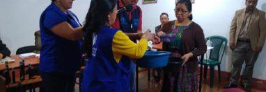 En Totonicapán se llevan a cabo medidas de prevención por el coronavirus. (Foto Prensa Libre: Tomada de la página de los 48 Cantones).
