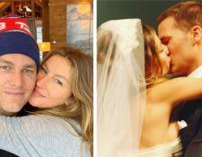 Tom Brady y Gisele Bündchen han pasado por una crisis matrimonial, pero trabajan juntos para dejarla atrás. (Foto Prensa Libre: Instagram)