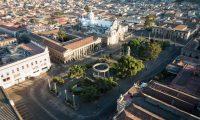 El Centro Histórico de Quetzaltenango es uno de los más concurridos de la ciudad y cuenta con multiples dependencias públicas y negocios. (Foto Prensa Libre: Cortesía)
