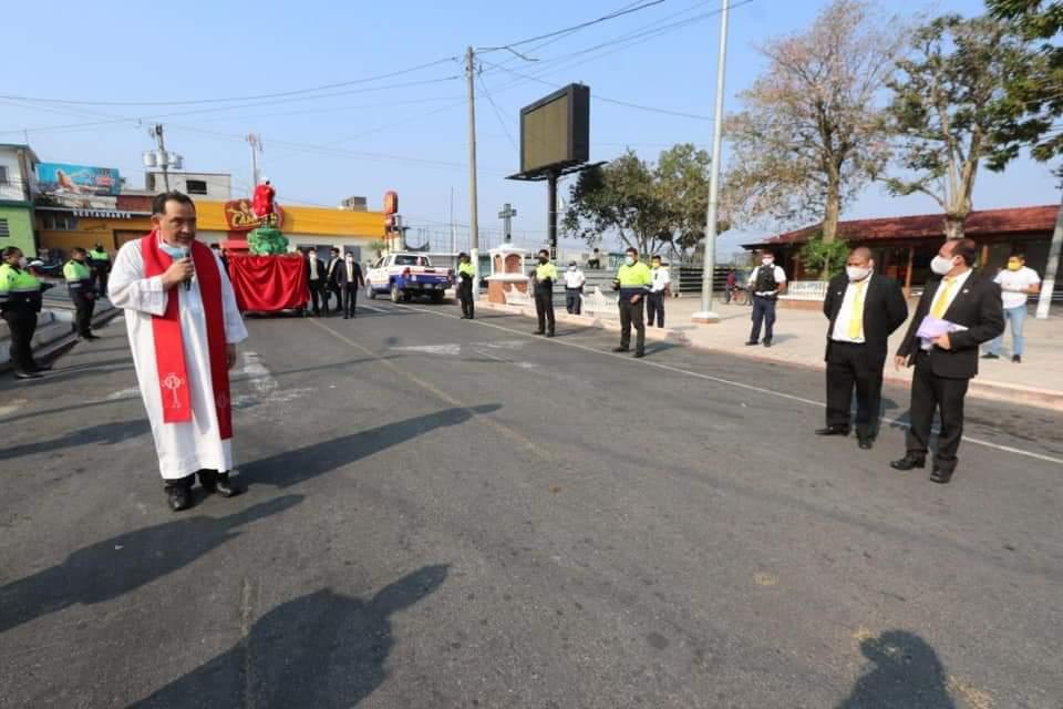 MP investiga procesión que recorrió el centro de Santa Catarina Pinula