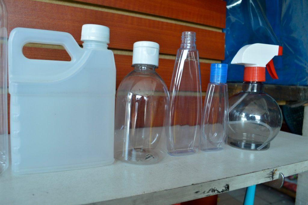 Sector de plástico
