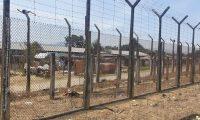 Esta es el sector donde falleció el recluso que intentó fugarse. (Foto Prensa Libre: Cortesía)