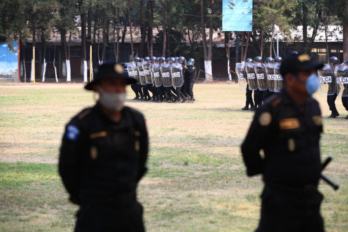 PNC se prepara ante posibles conflictos sociales durante emergencia del covid-19