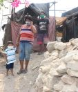 El Canal, aldea La Fragua, Zacapa, es uno de los sectores más pobres del departamento. (Foto Prensa Libre: Wilder López)