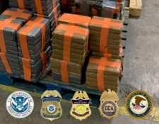 El cargamento de droga estaba adentro del túnel y no se reportaron capturas de personas vinculadas al grupo de narcotraficantes. (Foto Prensa Libre: Departamento de Seguridad Nacional de EE. U