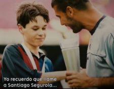 Andrés Iniesta - El héroe inesperado, el documental que se estrenará el 23 de abril. (Foto Prensa Libre: Youtube)