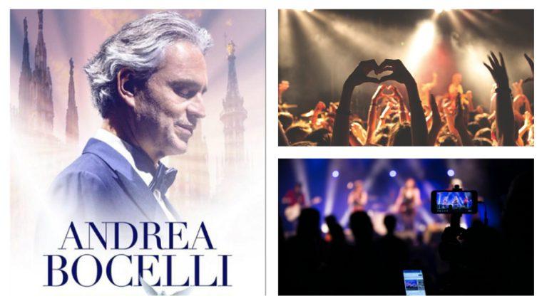 El tenor italiano Andrea Bocelli ofrecerá un concierto en línea desde la histórica catedral de Milán, Italia. (Foto Prensa Libre: Hemeroteca PL)