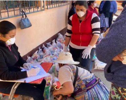 Las autoridades vigilarán la transparencia en la entrega de alimentos. (Foto Prensa Libre: Hemeroteca PL)