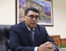 Edwin Salazar, Contralor  General de Cuentas de Guatemala. (Foto HemerotecaPL)
