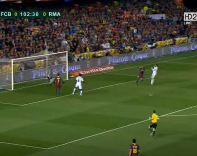 En 2011 Cristiano Ronaldo anotó el gol que le dio la Copa del Rey al Real Madrid. (Foto Prensa Libre: Youtube)