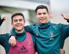 Paulo Dybala y Cristiano Ronaldo ha demostrado que se llevan bien dentro y fuera de la cancha. (Foto Prensa Libre: Instagram @paulodybala)