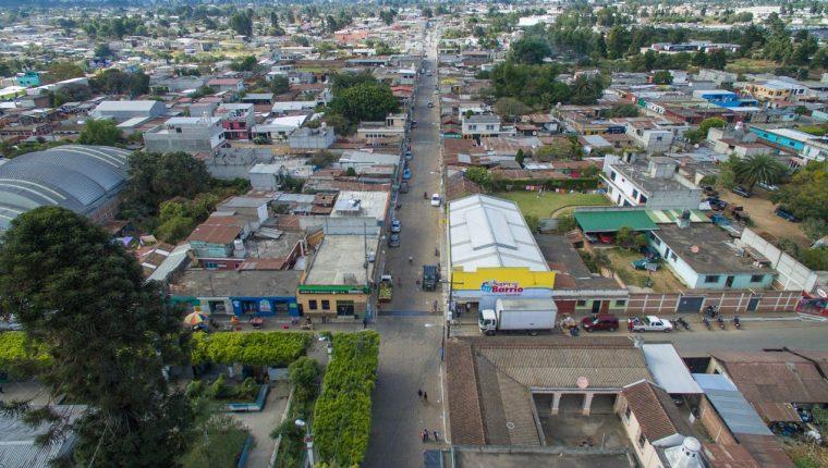 Chimaltenango es el departamento con más casos sospechosos de contagios comunitarios de covid-19. (Foto Prensa Libre: Víctor Chamalé)