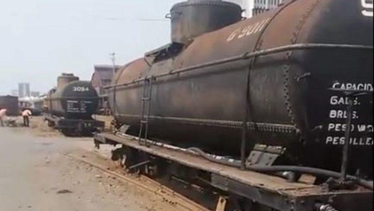 Tanques de agua del Ferrocarril de Guatemala