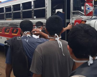 Conamigua gestionó transporte para deportados que arribaron durante la pandemia. Foto: Hemeroteca