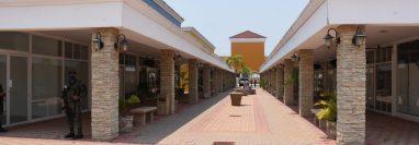 Instalaciones donde funcionará un hospital provisional en Estanzuela, Zacapa.(Foto Prensa Libre: Wilder López)