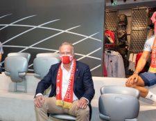 Lo que se recaude con la venta de mascarillas irá a una plataforma de donación para la lucha contra el coronavirus. (Foto Bayern)