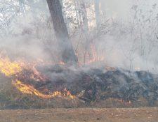 incendio en Club Campestre La Montaña