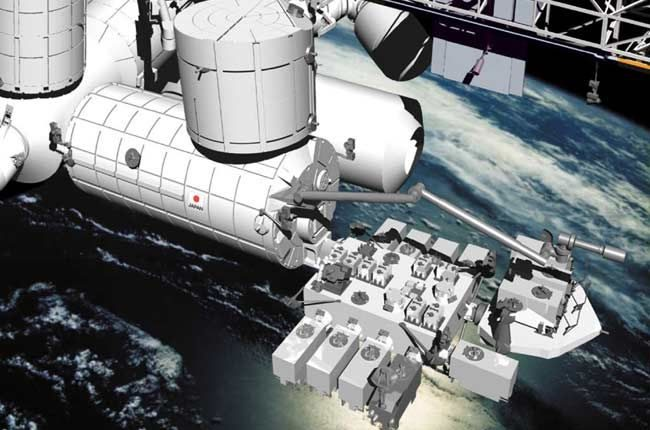 Módulo experimental japonés Kibo, en la EEI, desde el que será liberado al espacio Quetzal-1, el primer satélite guatemalteco, el 28 de abril. (Hemeroteca PL)