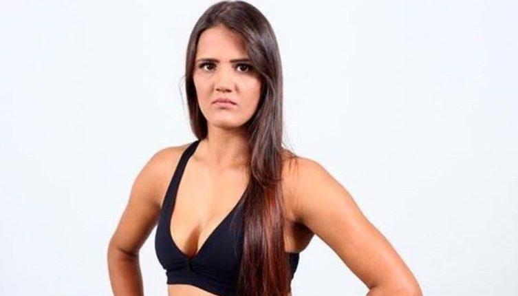 María Ribeiro, luchadora de la MMA. (Foto Prensa Libre: UFC)