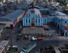 Los primeros contagiados por coronavirus son oriundos de San Pedro Sacatepéquez. (Foto: Hemeroteca PL)