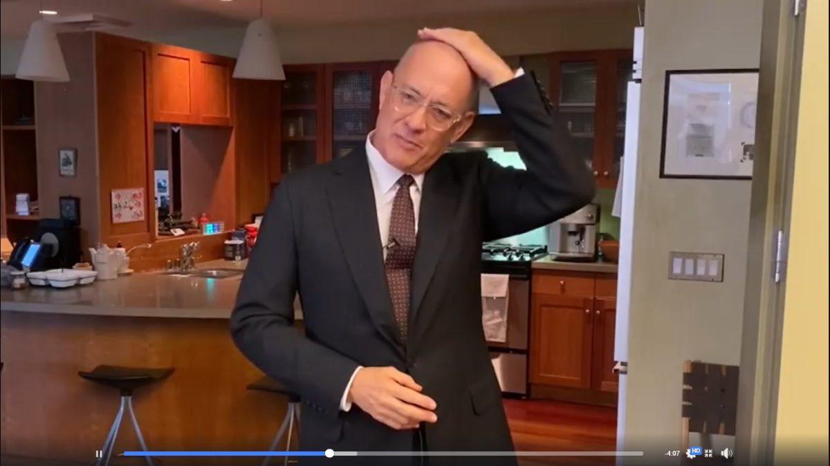 Coronavirus: Tom Hanks aparece en programa televisivo y habla de su recuperación